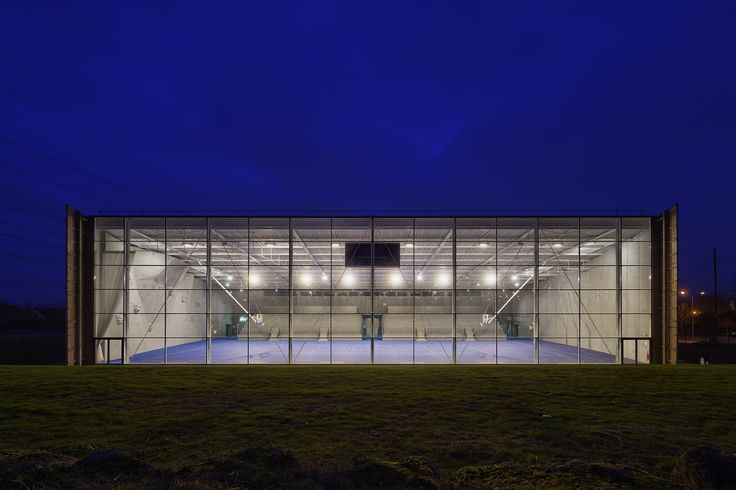 Gallery - Lardy Sports Hall / Explorations Architecture - 5