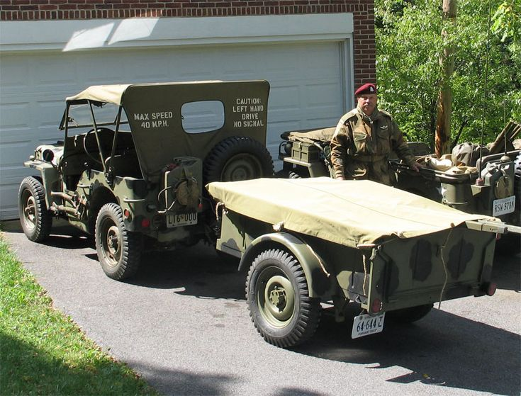 Jeep Willy S Amp Bantam Trailer Jeeps Jeep Military
