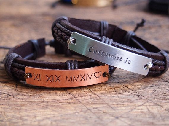 Hey, I found this really awesome Etsy listing at https://www.etsy.com/listing/223878796/personalized-mens-bracelet-fathers-day