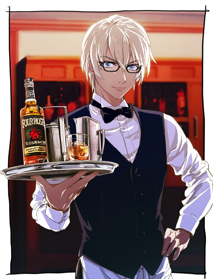 Detective Conan ❤ Bourbon