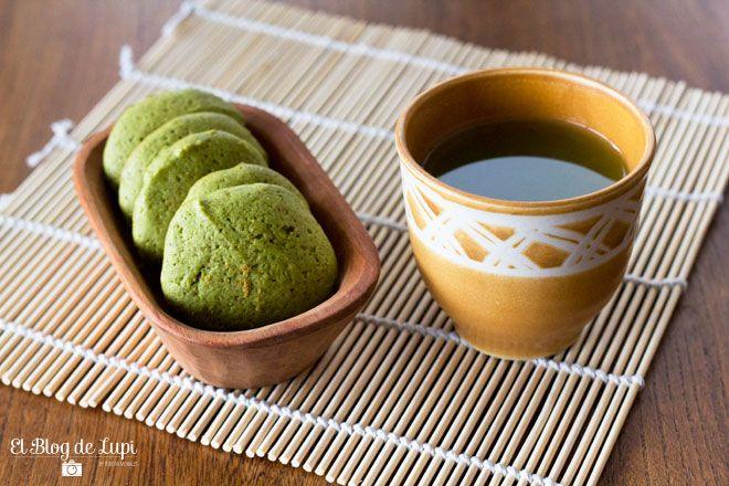 Green tea cookies #galletas #te #verde http://elblogdelupi.com/food/receta-galletas-de-te-verde