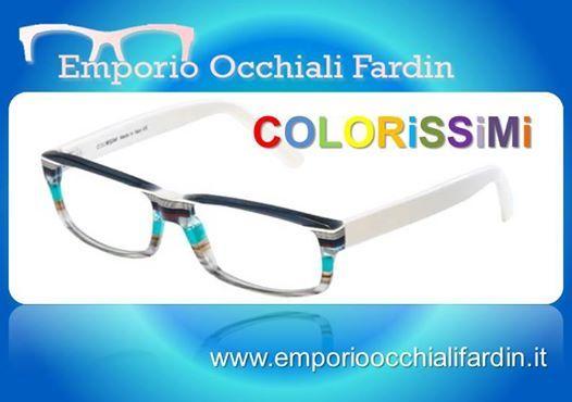 Scegli tra tanti modelli di COLORISSIMI, nessun occhiale è uguale all'altro....