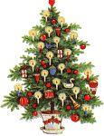 juleclipart, juletræ clipart, billeder med juletræer, jule clipart, clipart, nisser, jule dyr, adventskranse m.m