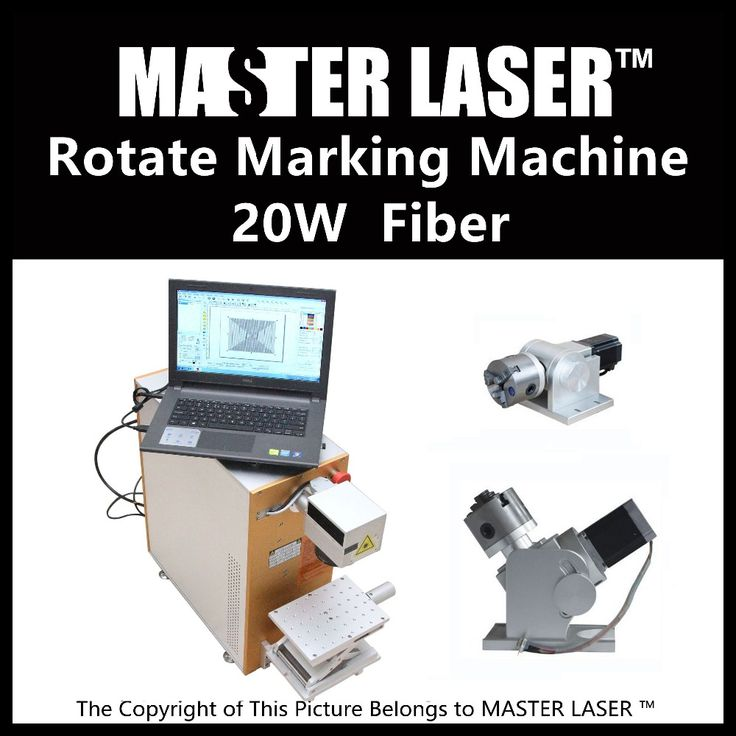 Lower Price  20W Rotate  Fiber Making   220V Input Raycus Laser with DELL DESKTOP Computer laser engraving and cutting machine