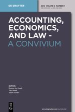 Accounting, Economics, and Law: A Convivium
