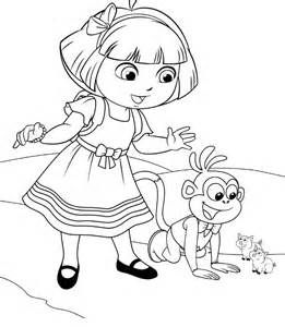 Dora Coloring Lots Of Pages And Printables