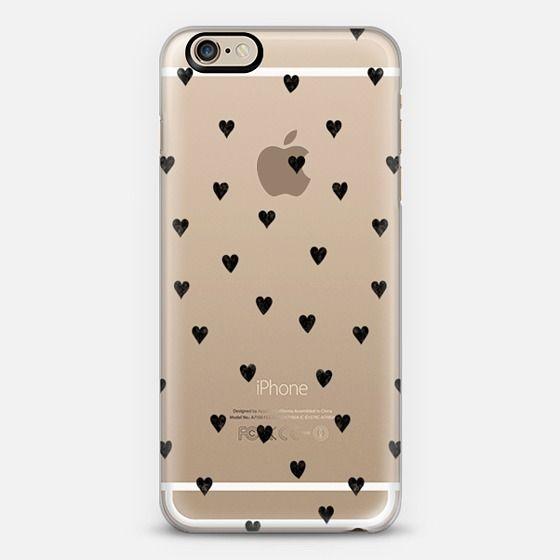 HEARTS transparent - Classic Snap Case