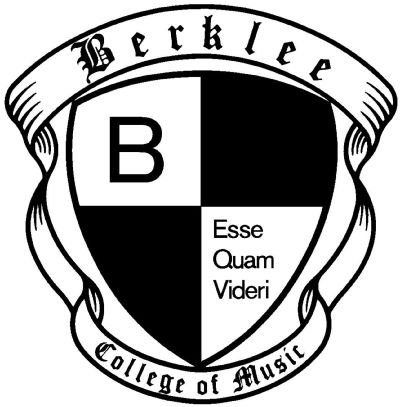 they have the same motto as my high school--to be rather than to seem to be--Official Seal of the Berklee College of Music, Boston, MA, USA.svg