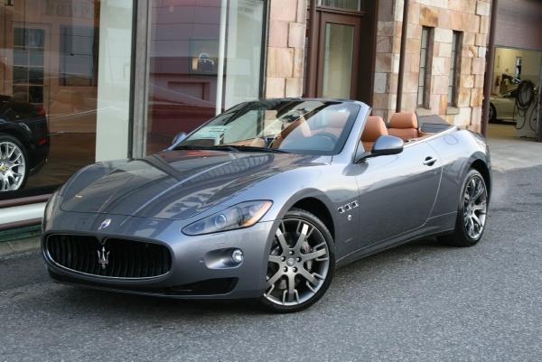 2012 Maserati Convertible
