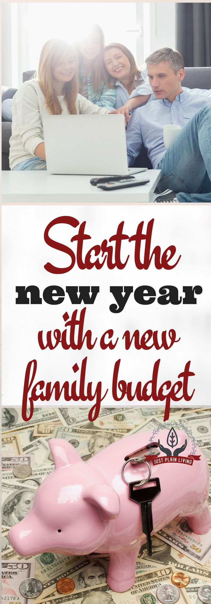 Start the new year with a new family budget - get your finances on track for 2017