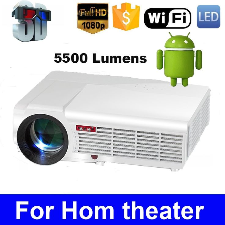 209.00$  Watch here - http://alidzg.worldwells.pw/go.php?t=2053675972 - LED96 Quad core Android 4.4 1080P wifi led projector 5500Lumen full hd 3d home theater lcd video HDMI proyector projektor beamer 209.00$
