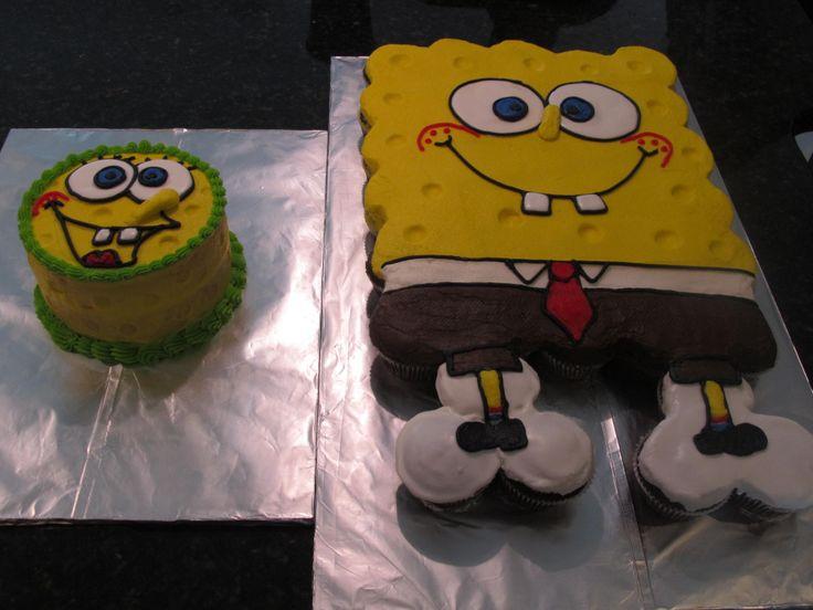 Spongebob Takes The Cake Ideas And Designs