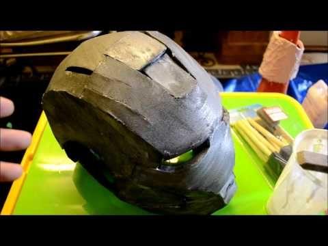 5 - (Sealing the foam part 2) Foam Pepakura Iron Man Suit/Armor explanation - YouTube