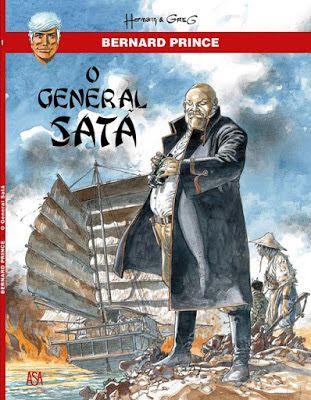 BD Portugal: Bernard Prince - O General Satã