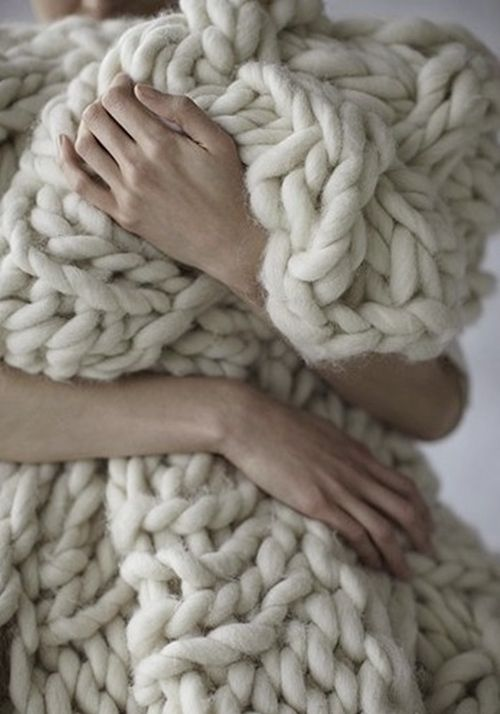 Perfect throw for those cold, rainy days.