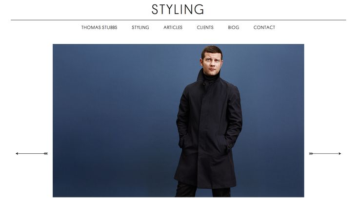 Thomas Stubbs - web design