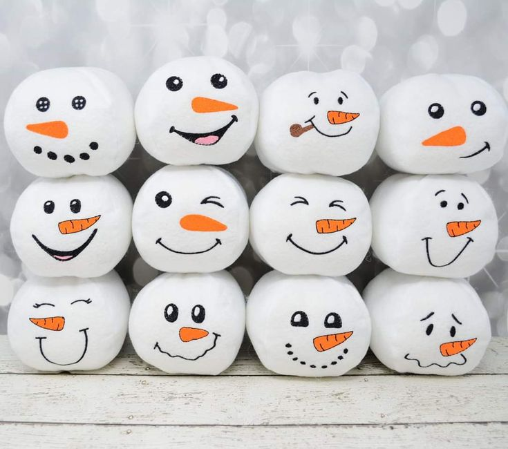 Are you ready for a snowball fight?  These soft fleece snowballs are fun for home decor and a little bit of fun!  Set includes twelve different facial expressions and a bucket for storage! . . . . #exclusivelyyoursembroidery #supportsmallbusiness #handmade #embroidery #pretendplay #partytime #partyfavors #wahm #snowballs #snowmen #snowballfight #winterwonderland #snowday #instagood #homedecor #holidaydecor #christmasdecor #holidayhome #winterishere #tistheseason #comfycozy #holidays #winterdecor