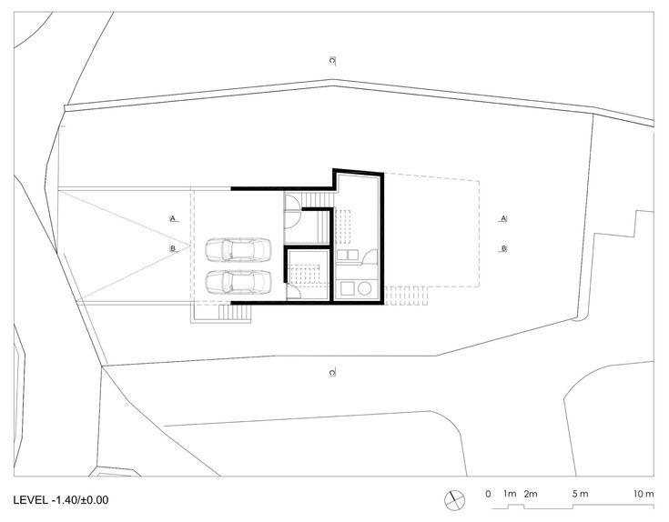 House in Lumino,Plan