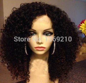 Top Quality Synthetic Lace Front Wigs Kinky Curly For Black Women African American Wigs