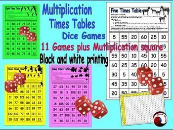 Printable Board games to teach Times Tables. Suitable for home or classroom, as they suit all ages and only require two players. These cool games make memorizing tables easy! These games help students learn facts and whilst having fun.