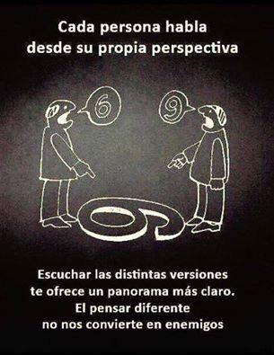 #perspectivas  #respeto #tolerancia