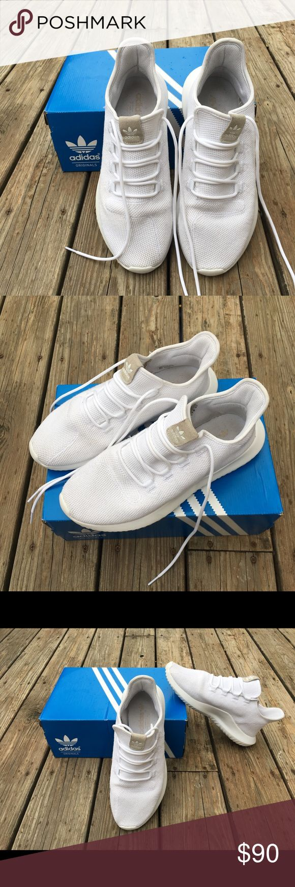 Adidas Tubulars Only worn a couple of times got another pair just like them. They are originally $100 at champs and other stores adidas Shoes Athletic Shoes