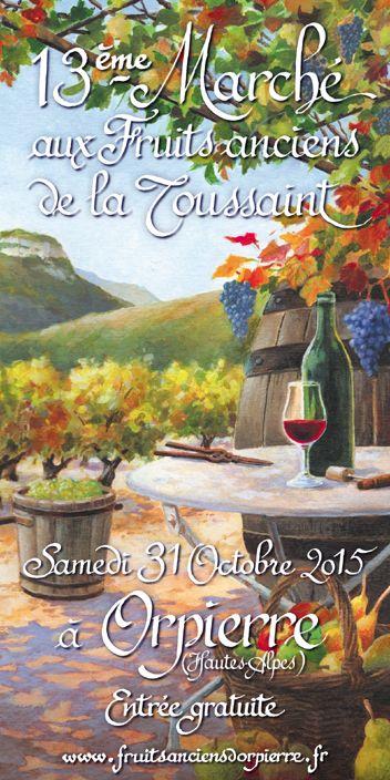 Orpierre 31 Octobre 2015 #orpierre #baronnies #produitslocaux
