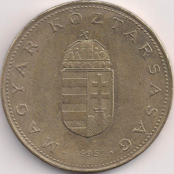 Wertseite: Münze-Europa-Mitteleuropa-Ungarn-Forint-100.00-1992-1998