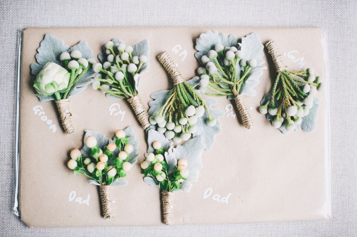 Butonnieres | A Dreamy Pastel Wedding in Perth: Sam and Emma
