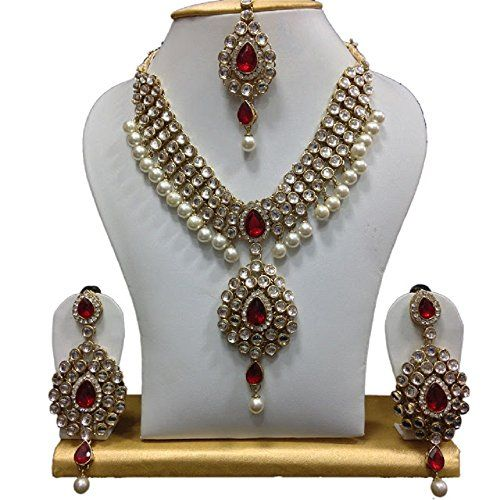 Indian Bollywood Designer Gold Plated Red Stone White Pea... https://www.amazon.com/dp/B06Y6CV1X9/ref=cm_sw_r_pi_dp_x_gYqjzbZSGY5AZ