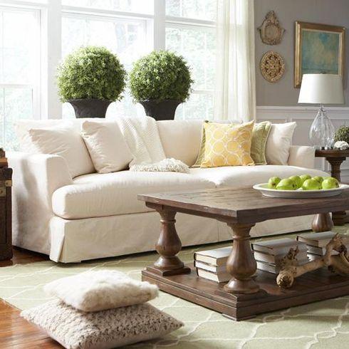 Captivating Cloud Slipcover Sofa At Belfort Furniture