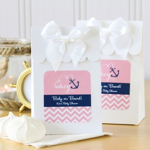 You've never heard as many oohs and ahhs in one place at one time until you've given these personalized baby candy bags at a baby shower--they're simply flawless!
