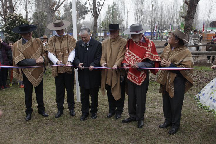 El Ministro de Agricultura, Carlos Furche, participó en la ceremonia de inauguración oportunidad que aprovechó para  destacar la importancia de esta celebración.
