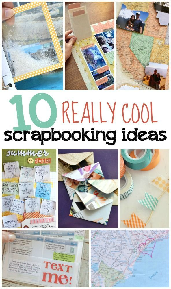 10 really cool scrapbooking ideas that will make your scrapbook stand out!