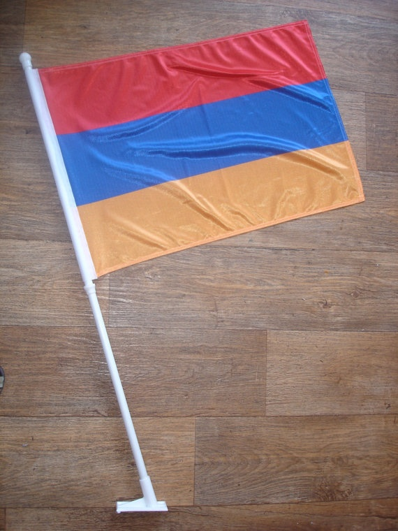 custom made armenia flag by customflag on Etsy, $55.00