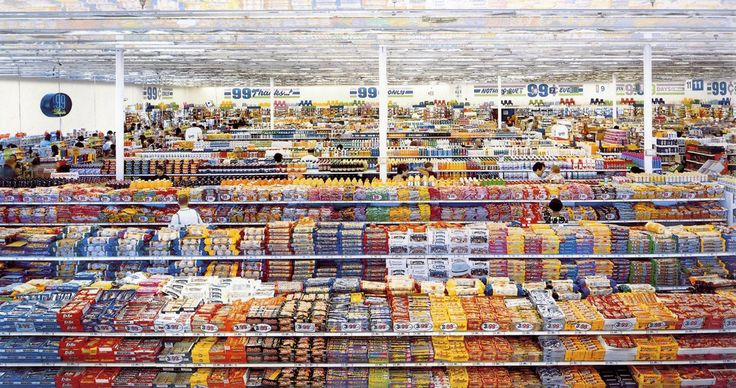 Andreas Gursky, 99 Cent I, 2001