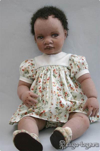 Teresa Churcher and its textile dolls.