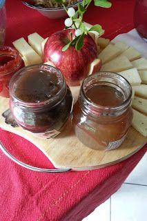 LE  RICETTE DI CHARA: Gelatina d' uva nera al pepe nero , d' uva bianca ...