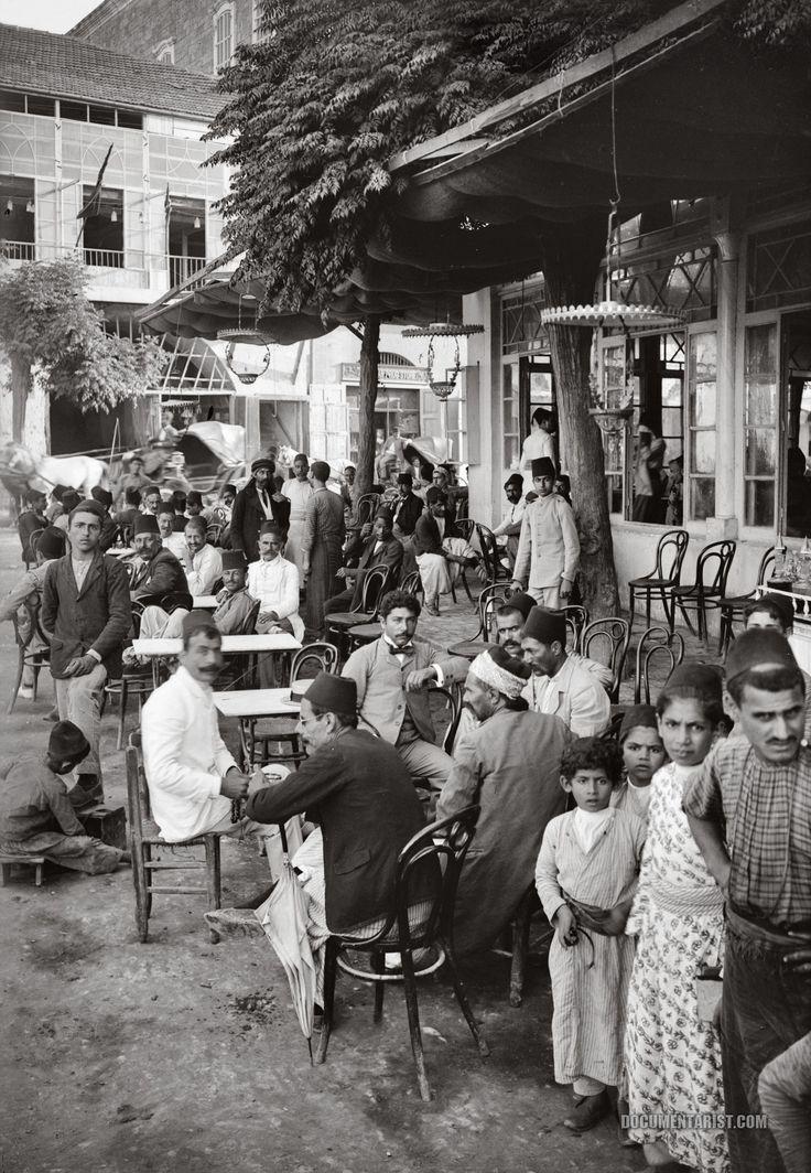 cafe_at_the_public_garden._beirut_lebanon._1900-1920