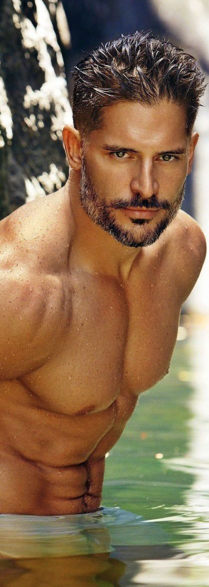 Joe Manganiello... Have no words to describe this mans body