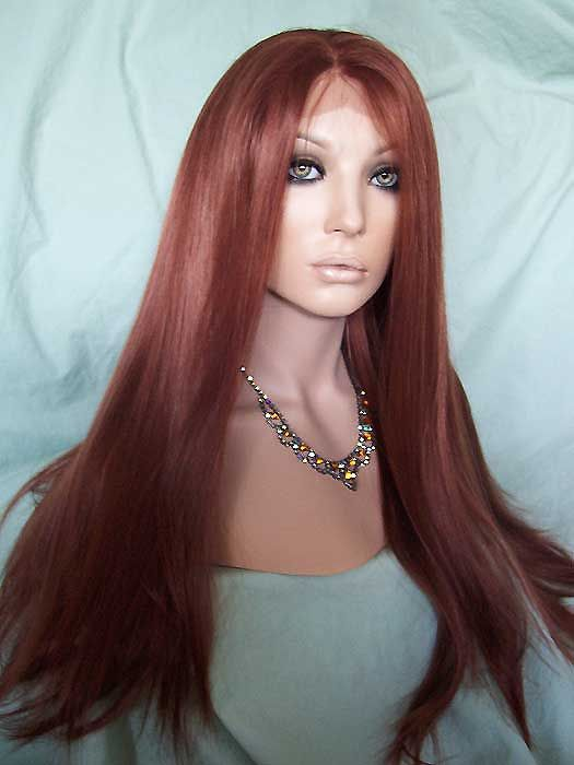 Swiss Lace Front Wig Color #35