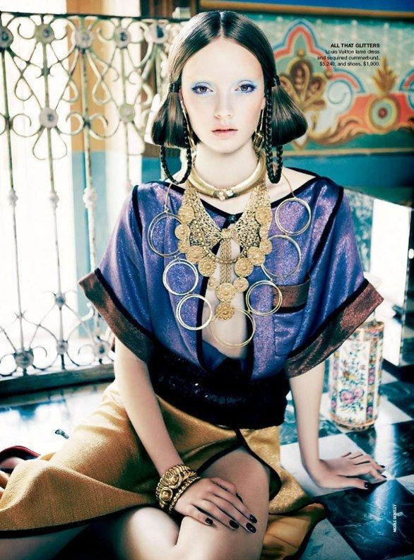 """All That Glitters"" from the editorial ""Orient Excess"" 