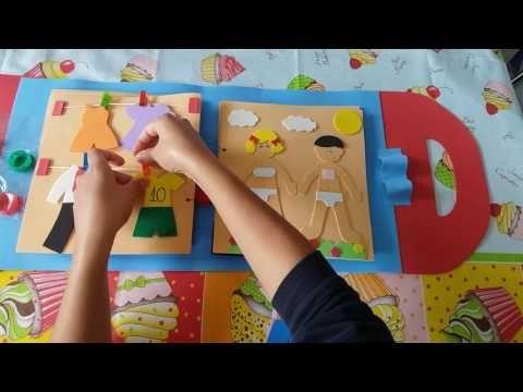 Vídeo do livro sensorial em Eva.
