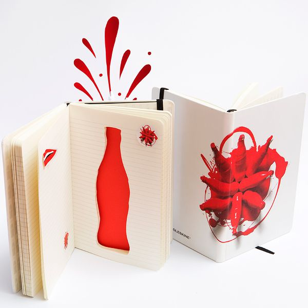 Moleskine Unveils Limited Edition Notebook Collection Celebrating 100th Anniversary of Coca-Cola Bottle