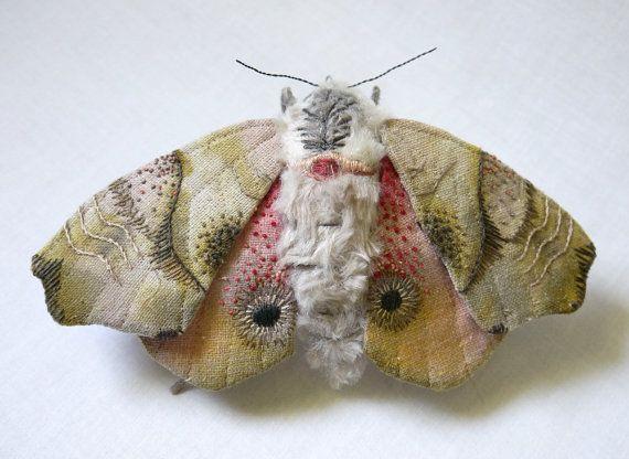 Текстильные скульптуры Yumi Okita с элементами вышивки. - Ярмарка Мастеров - ручная работа, handmade