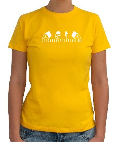 Asia Synchronized Swimming Women T-Shirts
