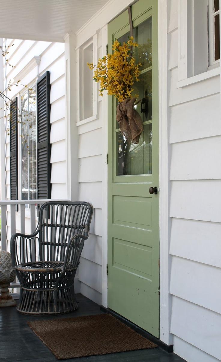 Df5411 esquemas de color casa exteriores con persianas negras - Door Color And Black Shutters