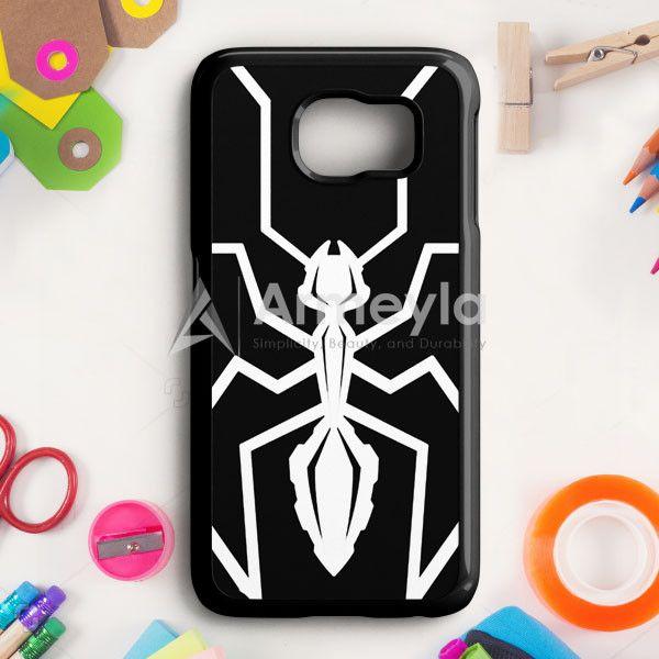 Marc Marquez Mm93 Black Ant Logo Samsung Galaxy S6 Case   armeyla.com