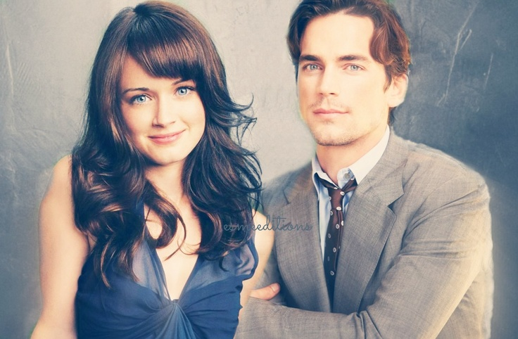 Alexis Bledel and Matt Bomer For Anastasia Steele ...