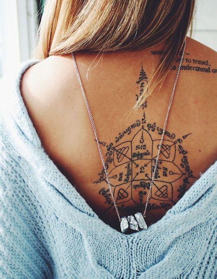 Idée tatouage : un souvenir de voyage